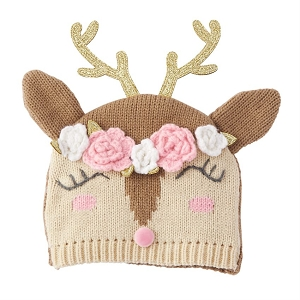 Mud Pie Reindeer Girl Hat