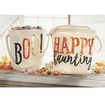 Mud Pie Halloween Dazzle Bucket Totes