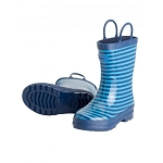 Hatley Rainboots - Navy Striped