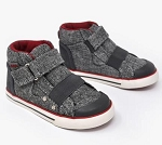 Kurkside Barca Hi Top - Grey
