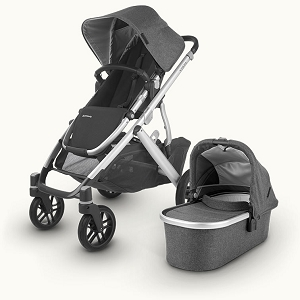 UPPAbaby Vista - Jordan (Grey Melange/Silver/Black Leather)
