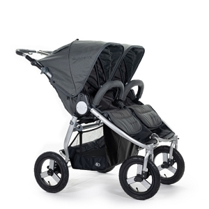 Bumbleride Indie Twin Stroller - Dawn Grey