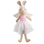 Mud Pie Linen Princess Doll - Bunny