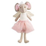 Mud Pie Linen Princess Doll - Elephant