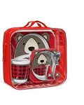 Limited Edition Winter Zoo Mealtime Set - Bear