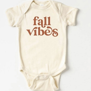 Fall Vibes Onesie