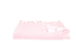 Saranoni Lush Blanket with Satin Back - Light Pink