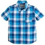 Mayoral Short Sleeve Checked Shirt