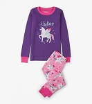 Hatley Applique Pajama's - Winged Unicorns