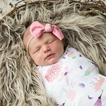 Swaddle Blanket - Rosa Wildflower