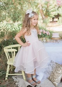 Isobella & Chloe Princess Shimmer Dress