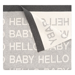Elegant Baby Hello World Blanket