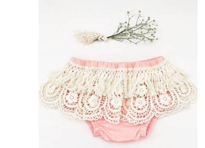 Fringe bloomer - Dusty Pink