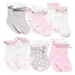 Peek-a-Boos Socks - 6pk