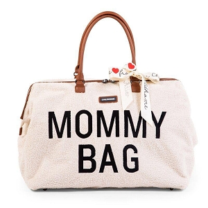 Limited Edition Mommy Bag - White Teddy