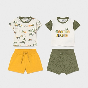 Mayoral Safari Short Set