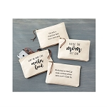 Mud Pie Mom Canvas Pouch