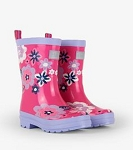 Hatley Rainboots - Wintery Blooms