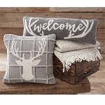 Deer Hooked Pillow