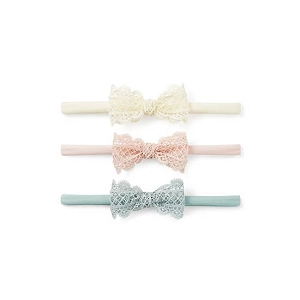 Lacey Bow 3pk Headbands