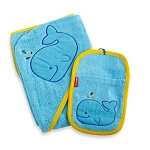 Hooded Towel & Mitt Set - Moby