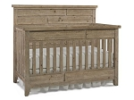 Dolce Babi Grado Full Panel Crib - Sandy Pine