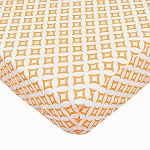 ABC Fitted Sheet - Orange Tile