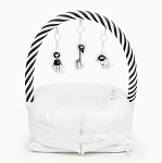 DockATot Toy Bar - Black & White Stripe