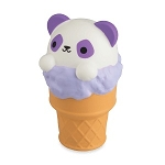 Squishies Jumbo Animal Pals - Panda Ice Cream Cone