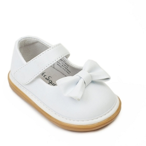 White Bow Shoes