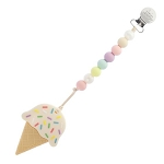 Ice Cream Teether - Cotton Candy