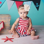 Bows & Stripes Dress