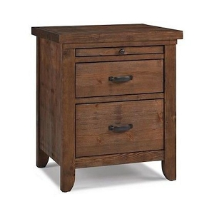 Dolce Babi Grado Nightstand - Farmhouse Brown