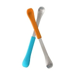 Swap 2-in-1 Baby Spoons - Blue & Orange