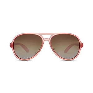 Polarized Baby Aviator Sunglasses-Rose