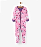 Hatley Footed Coverall - Winged Unicorns