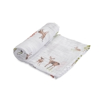 Little Unicorn Cotton Swaddle - Oh Deer
