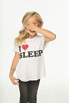 Chaser I Heart Sleep Tee