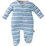 Magnificent Baby Footie - Blue Stripes
