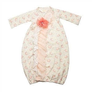 Haute Baby Hint of Spring Gown