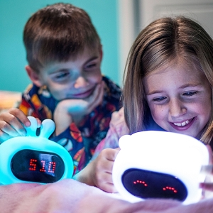 Light Up Kids Bunny Alarm Clock