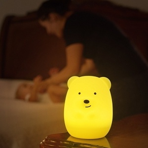 LED Bear Night Light with Remote