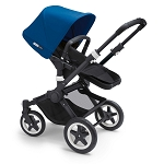 Bugaboo Buffalo - Black & Royal Blue