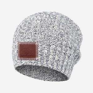 Kids Slouch Beanie - Speckled