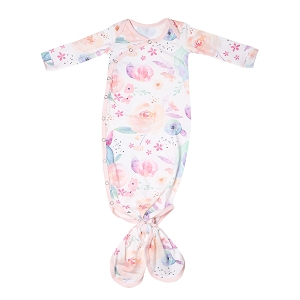 Bloom Newborn Knotted Gown