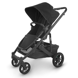2020 UPPAbaby Cruz V2 Stroller - Jake (Black/Carbon/Black Leather)