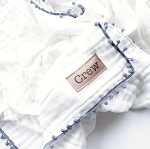 Personalized Heirloom Blanket - Grey