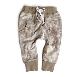 Joggers - Taupe Tie-Dye