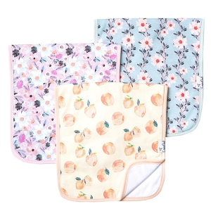 Copper Pearl Burp Cloth Set - Morgan