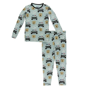 KicKee Pants Pajama Set - Jade Law Enforcement